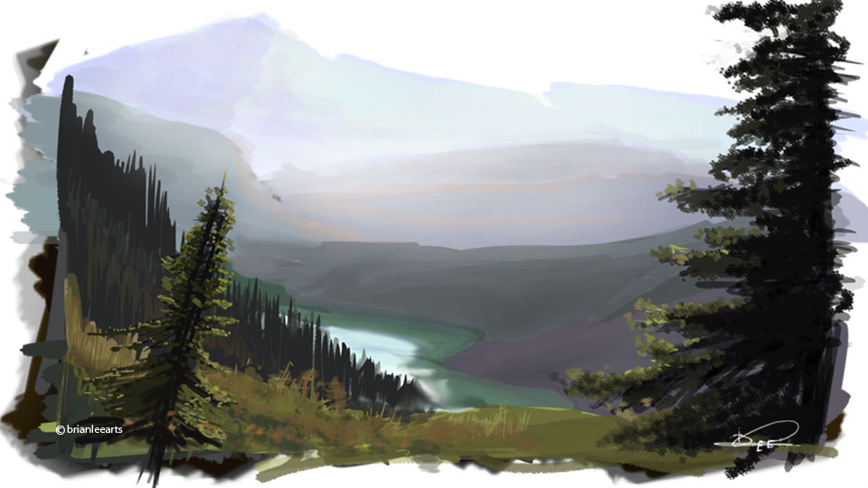 colorstudy19: Rocky Mountains